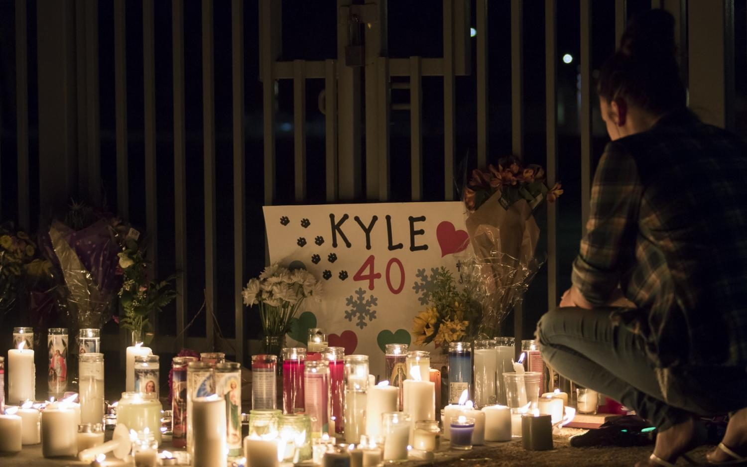 Coyotes Gather To Pay Respect To Fallen Classmate