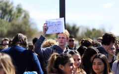 Coyotes rally for _________ during walkout.