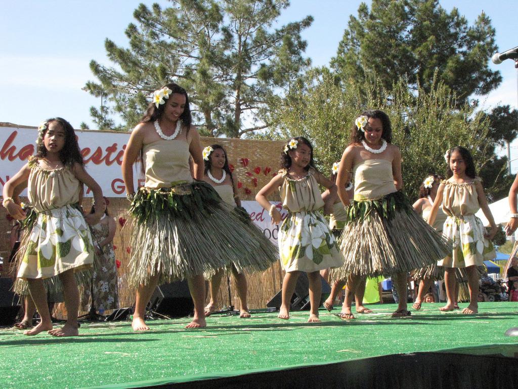 Kaimikahuhaleohula Dance Team.