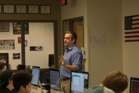 Veteran Teacher, Taylor Connects With Students Through Journalism