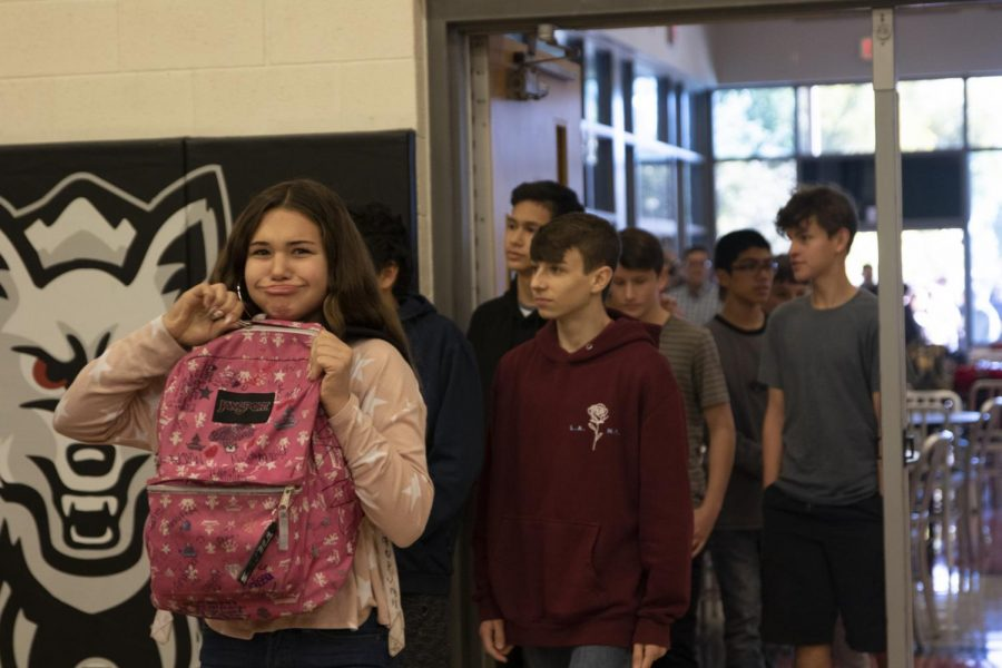 Eighth Graders Learn What It's Like to be Apart of a Pack