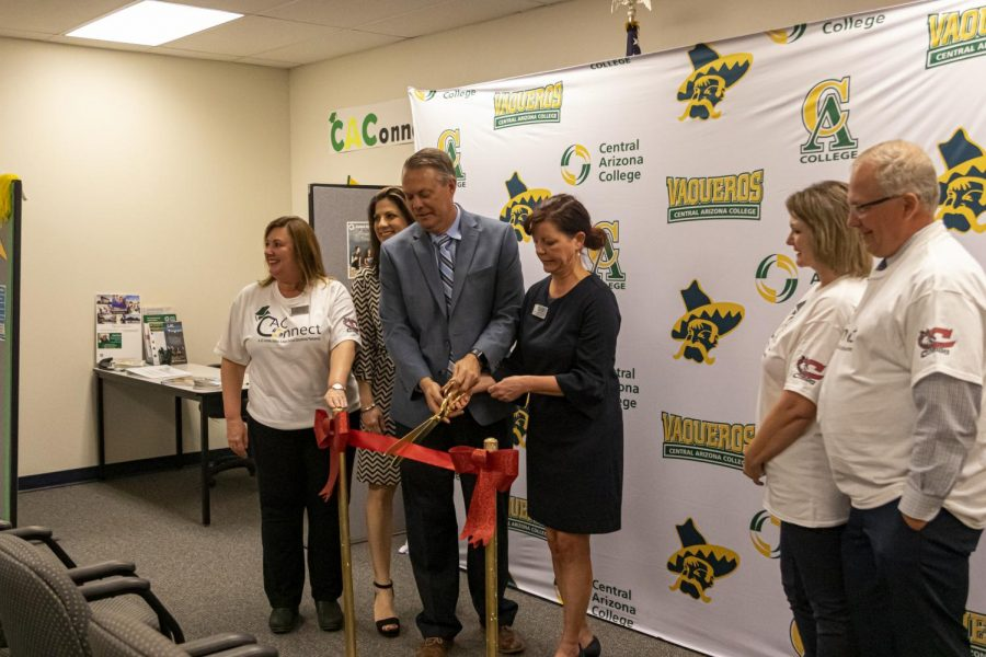 Central Arizona College Opens Office at CHS